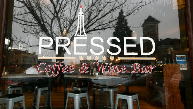 Pressed Coffee & Wine Bar in Dallas is on Main Street across from the Polk County Circuit Court. They are open 7 a.m. to 10 p.m. daily.