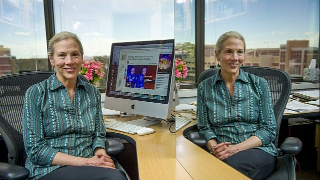 Susan Bailey, associate professor in CSU's Department of Environmental and Radiological Health Sciences, will study the effects of space flight on human chromosomes when NASA sends one identical twin to the International Space Station next year.
