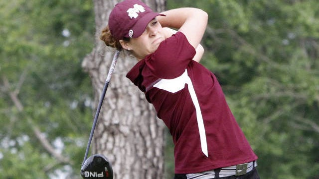 Ally McDonald missed the cut at the 2014 women's US Open at Pinehurst No. 2 on Friday.