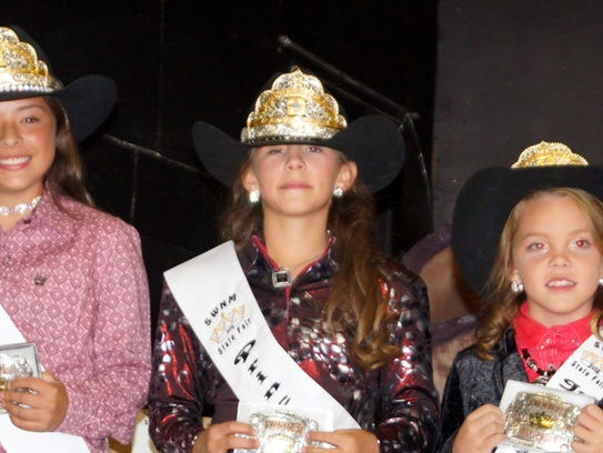 The 2016 Southwestern New Mexico State Fair royalty