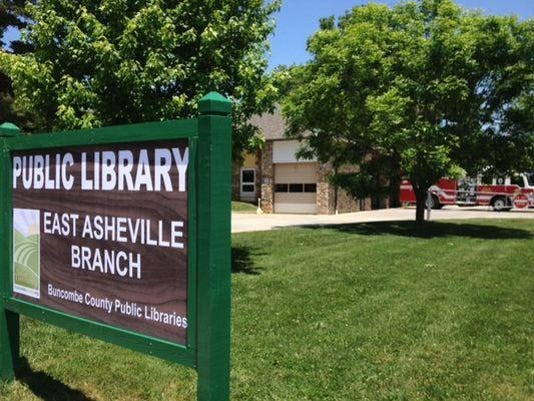 east asheville library