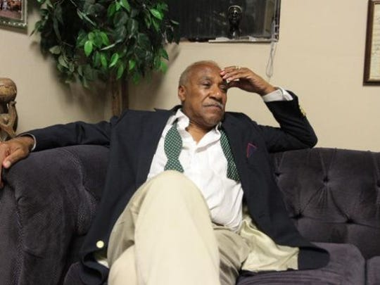 Mount Vernon Mayor Ernie Davis in February on the eve of his sentencing on federal misdemeanor charges that he failed to pay taxes. Davis was later sentenced to probation. He's now under fire for a $3.1 million contract awarded to longtime friend and former city commissioner Terrence Horton.