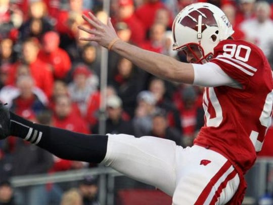 Drew Meyer was an All-Big Ten kicker.