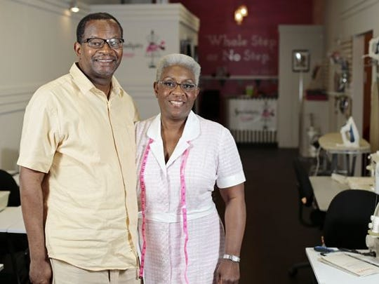 Sewendipity Lounge owner Karen Williams and her husband, Kenny Williams.