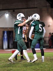 Kinnelon senior Seamus Nelson, left, was named to the