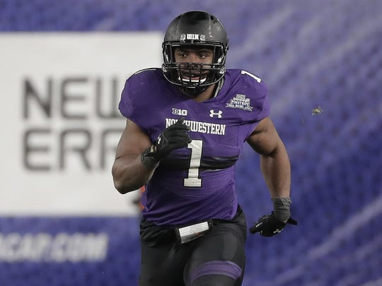 Northwestern linebacker Anthony Walker Jr.