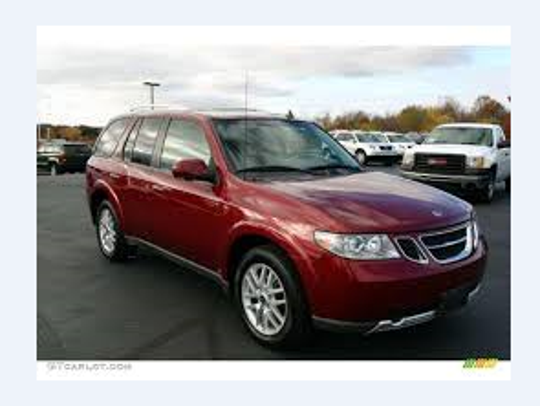 Photos of a vehicle similar to the red SUV in question,
