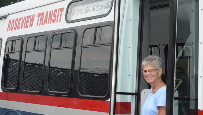 Terri Quinter, manager of Roseview Transit.