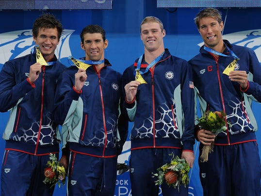 U.S. medley relay gold medal