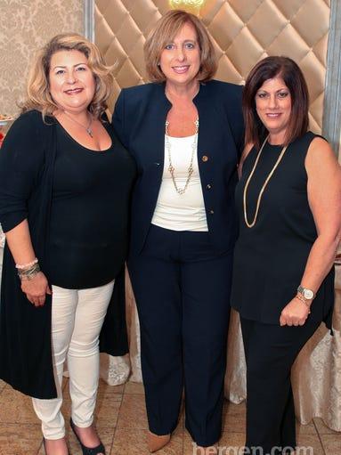Janet Pomante, Sandra Ewen (Johl & Co.), Janis Schuettler (Servpro Paramus)
