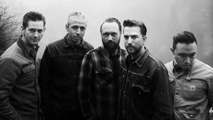 JD McPherson's band: saxophonist, guitarist and keyboardist Doug Corcoran; bassist Jimmy Sutton; drummer Jason Smay; lead singer and guitarist McPherson; and keyboardist Ray Jacildo.
