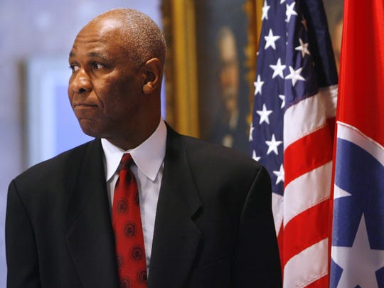 March 24, 2008 - Memphis Mayor Willie Herenton waits