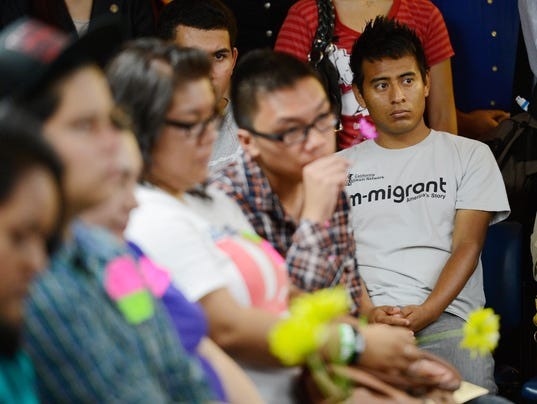 Young Immigrants Apply For Obama Administration's Temporary Deportation Reprieve
