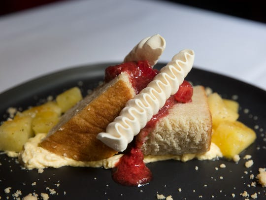 Need a sweet after dinner? Try the strawberry shortcake