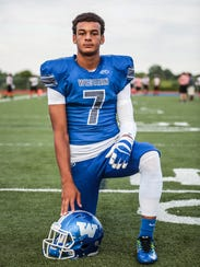 Walled Lake Western's Cody White photographed before