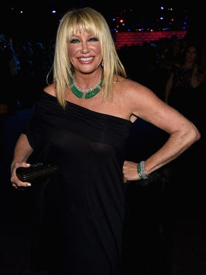 Actress Suzanne Somers attends the 26th Annual Palm Springs International Film Festival Film Festival Awards Gala at Palm Springs Convention Center on January 3, 2015 in Palm Springs, California.