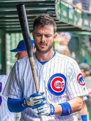 Kris Bryant has landed on the disabled list for the first time in his major-league career.