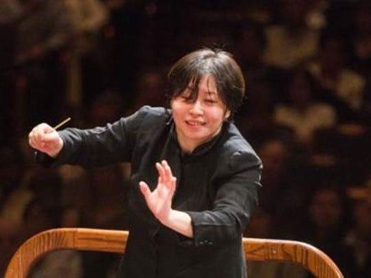 NJSO music director Xian Zhang.