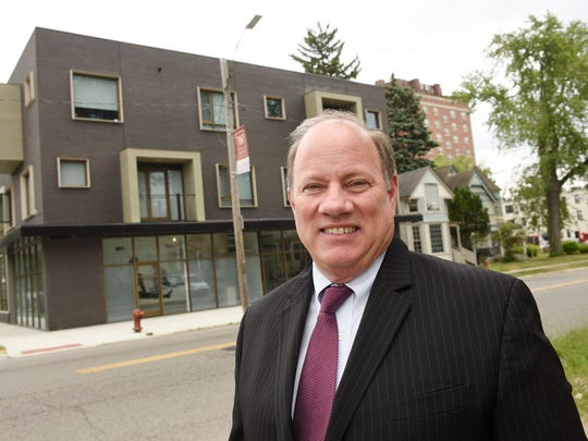 Detroit Mayor Mike Duggan: Our two-term mayor is honored for his efforts to help bring the city out of bankruptcy, continue growth downtown, and his long-term plan to revitalize the entire city of Detroit.
