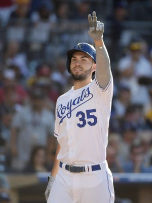 Eric Hosmer was All-Star Game MVP at Petco Park in 2016; now, he'll call San Diego home for the next eight seasons.