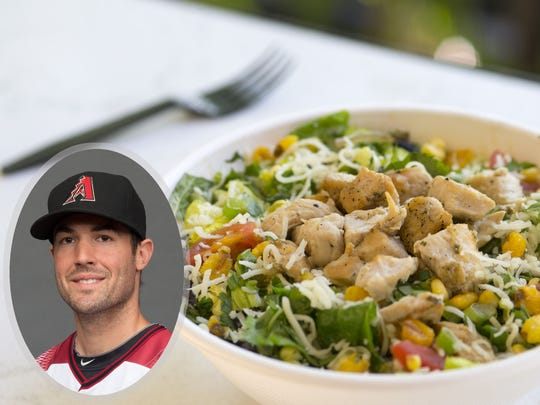 Robbie Ray's go-to salad at Chop Shop is the BBQ chicken