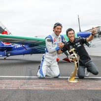 By land and air, Japan is big winner at Indianapolis Motor Speedway