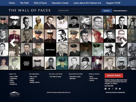 Help find photos for Vietnam Wall of Faces