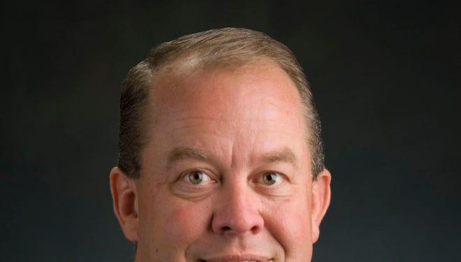 MSU Athletic Director Mark Hollis.