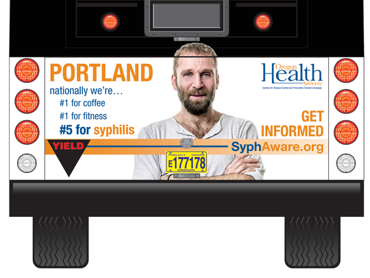 The OHA is launching an awareness campaign to educate the public about the current syphilis epidemic.