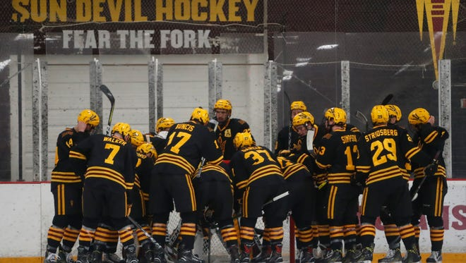 ASU hockey completed their second home sweep of the season.
