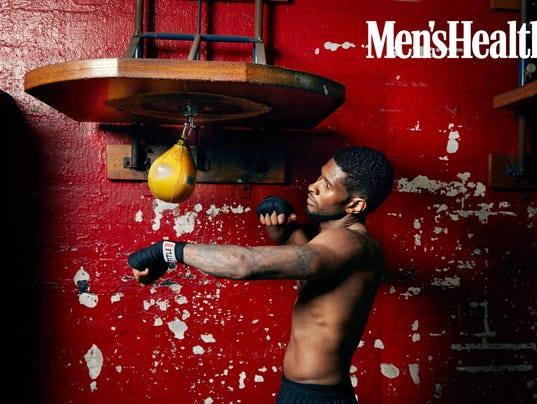 Usher punching