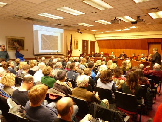 It was a packed house at the Birmingham City Commission