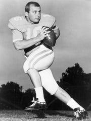 Tennessee quarterback Dewey Warren in 1967.