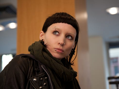 Actress Rooney Mara played the lead role in the film adaptation of