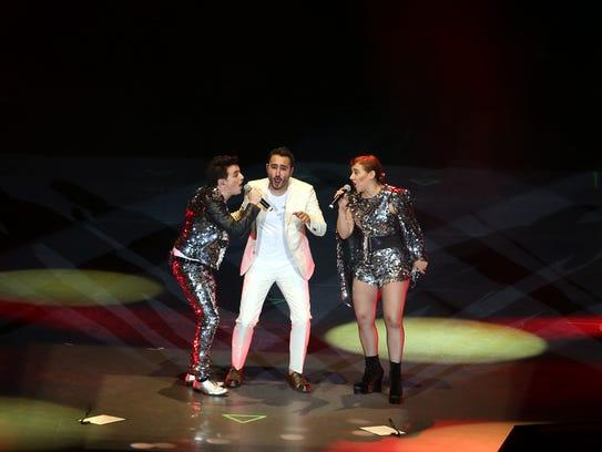 El grupo Reik en Madrid con su gira Des/Amor, acompañado por Beatriz Luengo, Carlos Rivera y el grupo Dvicio.