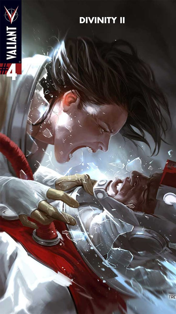 The cover of Divinity II No. 4