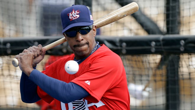 Willie Randolph is thrilled to be wearing No. 42 for Team USA in the World Baseball Classic.