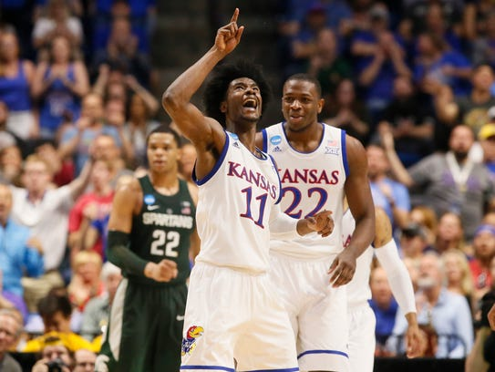 MIDWEST: Kansas will face Purdue on Thursday night.