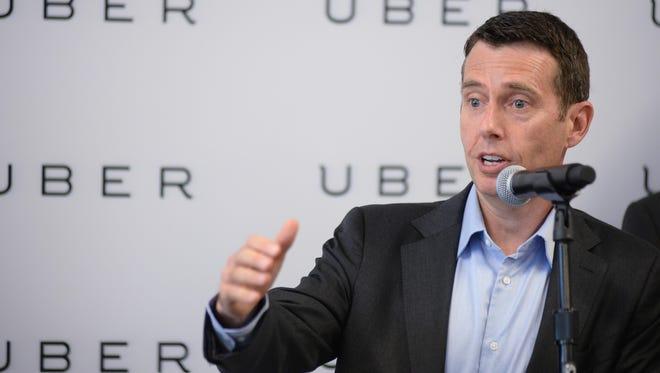 "Uber senior adviser David Plouffe said the ride-sharing company thinks Arizona is ""really embracing innovation and technology."""