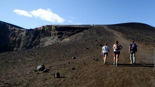 Capelinhos Volcano, Faial, Azores.