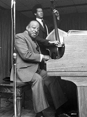 "Count Basie brought his special talents to Memphis on March 30, 1978, and musically lifted the spirits of a Memphis audience as he has done for audiences all over the world for the last 40 years. At the age of 73, he still has that special something that spells ""great"" and cries for more. He was a tough act to follow for Billy Eckstine, the other half of the two-hour show at the Rainbow Room of the Hilton Inn."