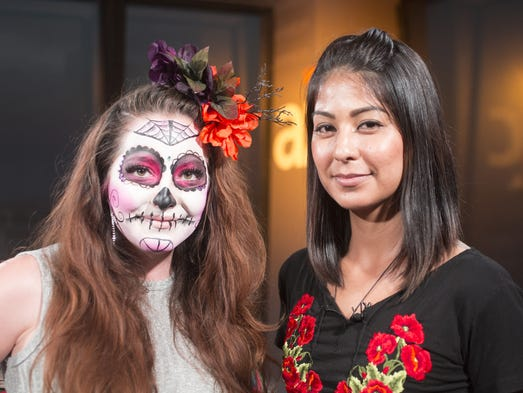 Day of the Dead face painting Meaning history how to transform