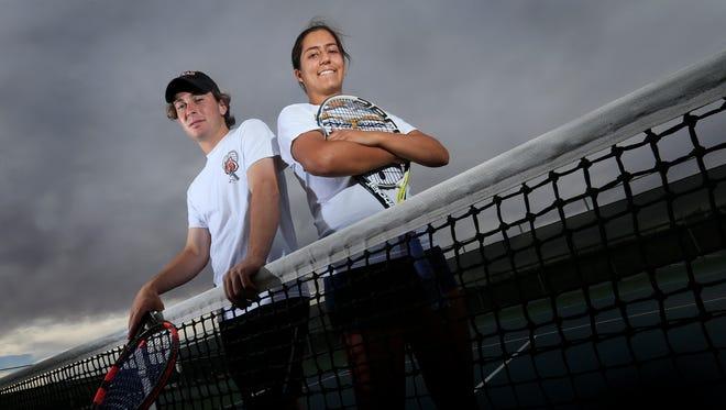 The El Paso Times' MVPs for tennis are Jaime Ramos of El Paso High School and Marjorie Antohi of Coronado High School.