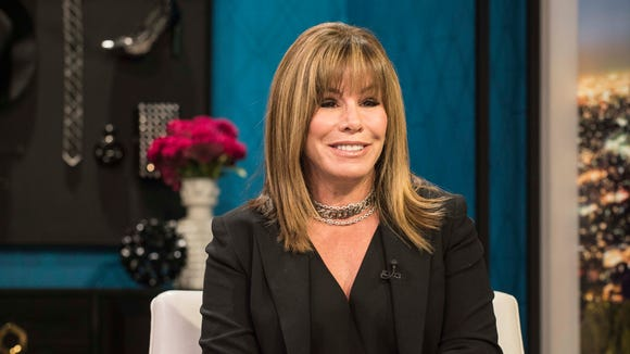 Melissa Rivers at the taping of the 'Fashion Police'