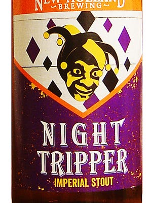 Night Tripper Imperial Stout, from New Holland Brewing Co. in Holland, Mich., is 11.5% ABV.