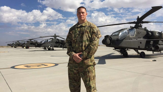 Lt. Col. Lance Van Zandt is the commander of the 1st Battalion, 501st Aviation Regiment. He will be relinquishing command later this month after a memorable two years at Fort Bliss.