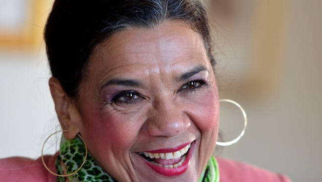 Sonia Manzano, one of the most influential Latinas in television who is best known for her role as Maria on Sesame Street, meets with teens from several area schools, Thursday, April 14 at The Yorktowne Hotel. Wednesday April 13, 2016. John A. Pavoncello photo