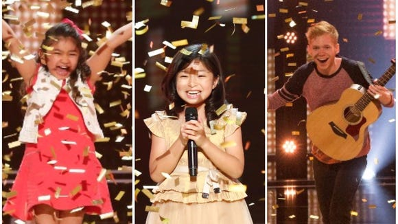 These acts got the Golden Buzzer, which means one judge