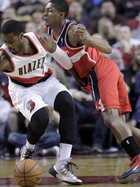 Wizards Trail Blazers Basketball