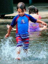 Splash Out at Barfield Cresent Park in July, 2017.